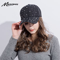 fa02a5e60f6 Модные женские шляпы со стразами Diamond Защита от Солнца кепки Swag  Casquette оснастки сзади Gorras одноцветное