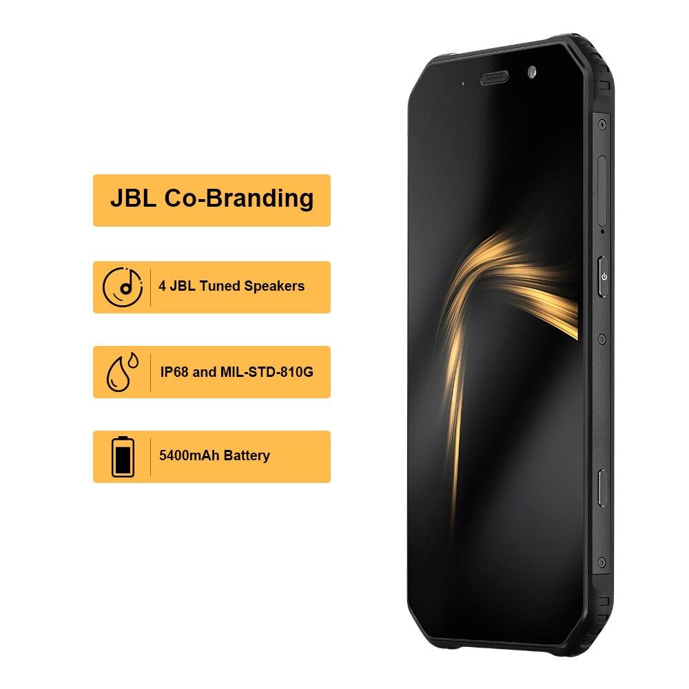 AGM officiel A9 JBL co marquage 5.99 4G + 32G FHD + Android 8.1 téléphone NFC 5400mAh IP68 étanche Smartphone Quad Box haut parleurs - 2