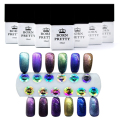 12 bottles/set Born Pretty Chameleon UV Gel Multi Chrome UV Gel