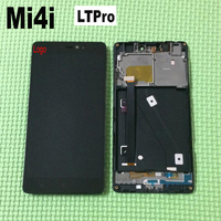 TOP Quality Black Full LCD Display Touch Screen Digitizer Assembly With Frame For Xiaomi Mi4i 4i
