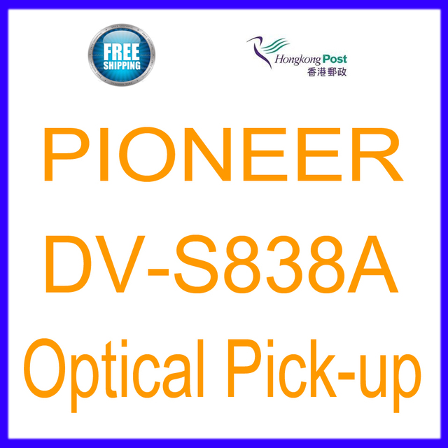 Free Shipping New Optical Pickup Laser Lens  Lasereinheit For Pioneer DV-S838A DV S838A