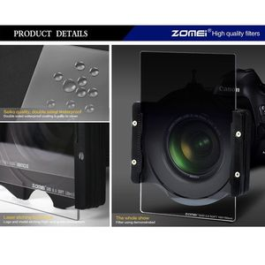 Image 4 - ZOMEI 150 100mm Camera Filter Import Optical Glass Square Gradual Neutral Density ND2 4 8 Filter for Cokin Z DSLR