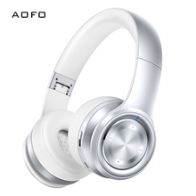 AOFO Bluetooth Headphones Over Ear Headset Hi-Fi Stereo Wireless Headphones with Deep Bass Foldable Wired/Wireless недорого