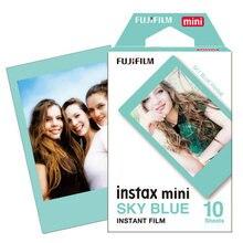 Original Fujifilm Instax Mini Fuji Film Blue Frame For Mini 8 7s 7 50s 50i 90 25 dw Share SP-1 Polaroid Instant Photo Camera