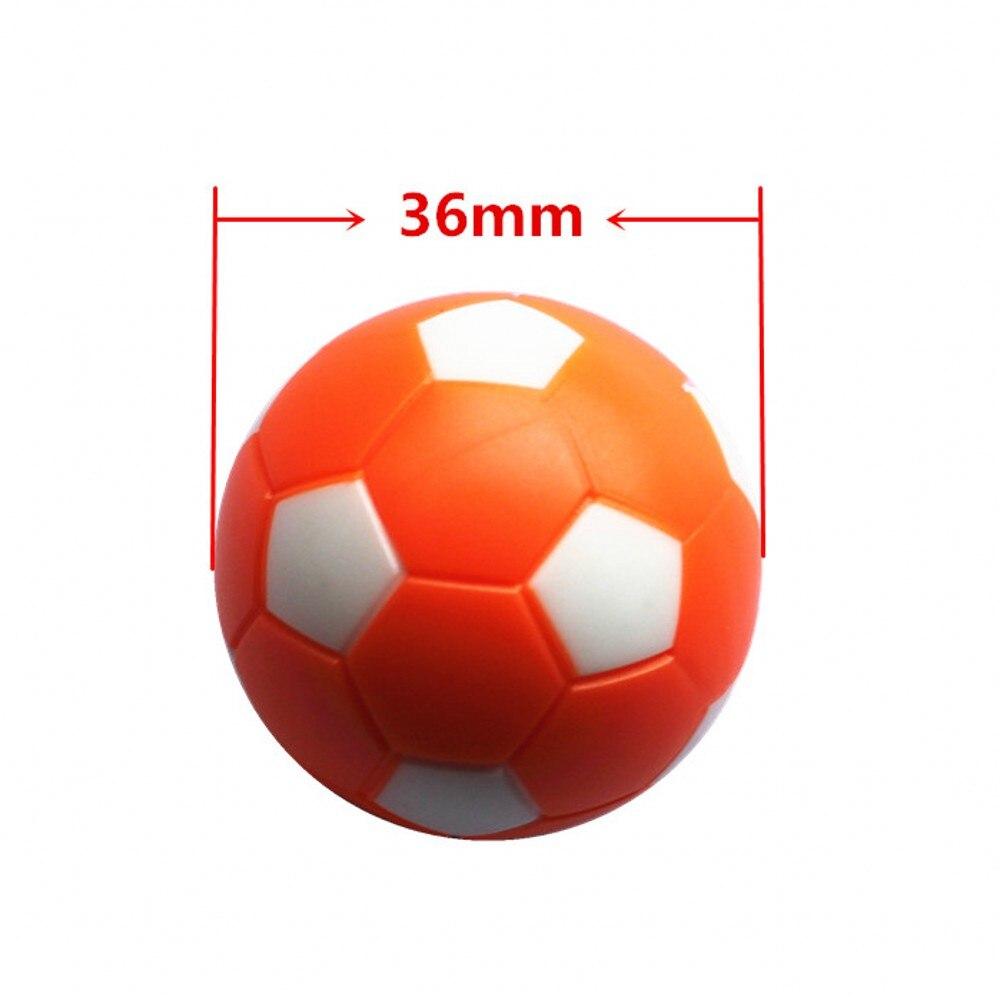 Rodzinny stół do gry w piłkarzyki 36 mm plastikowe pomarańczowe - Rozrywka - Zdjęcie 2