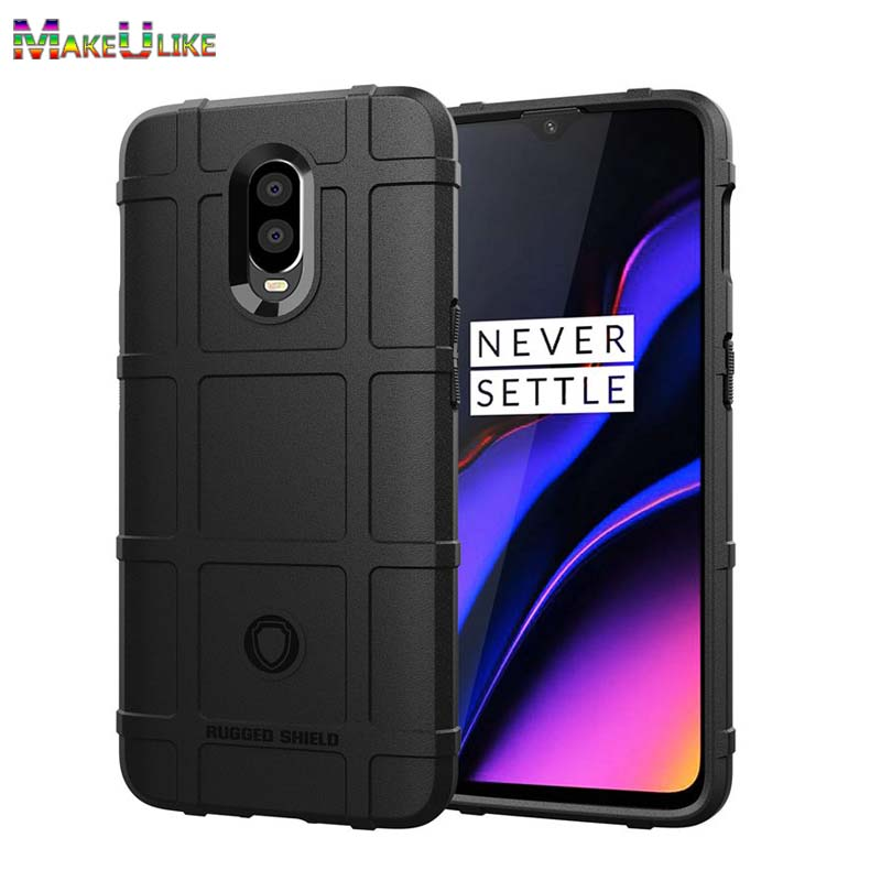 MAKEULIKE Thicken TPU Case For Oneplus 6 6T Cover Soft