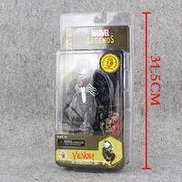 1pcs Marvel Legends Evolution of an icon Spider Man Venom PVC Action Figure Toy Model Doll