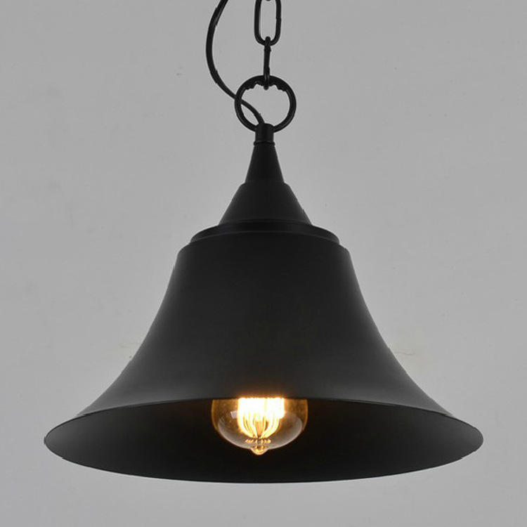 ФОТО American Industrial Vintage loft Pendant Light The cafe Creative Metal Cover Lamp