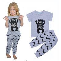 boy clothing sets summer cartoon boys clothing set 2016 summer cartoon monster t shirt+pants 2pcs clothing set for boy clothes
