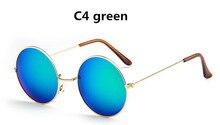 61893fd836787 2018 Designers de Moda Rodada Do Vintage Óculos De Sol Dos Homens e das Mulheres  óculos de Sol das Mulheres Príncipe Óptica Femi.