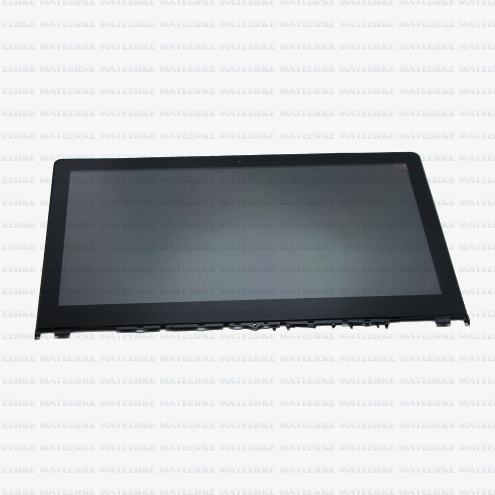 New For Lenovo Yoga 500 14 FHD LED LCD LP140WF3 (SP)(L1) Touch Screen Display Assembly With Frame,1920 x 1080 laptop lcd lp140wf1 sp b1 for dell e7440 with touch lcd screen led display brand new 1920 1080