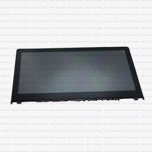 "Nueva para Lenovo Yoga 500 FHD 14 "" LED LCD LP140WF3 ( SP ) ( L1 ) pantalla táctil con marco, 1920 x 1080"
