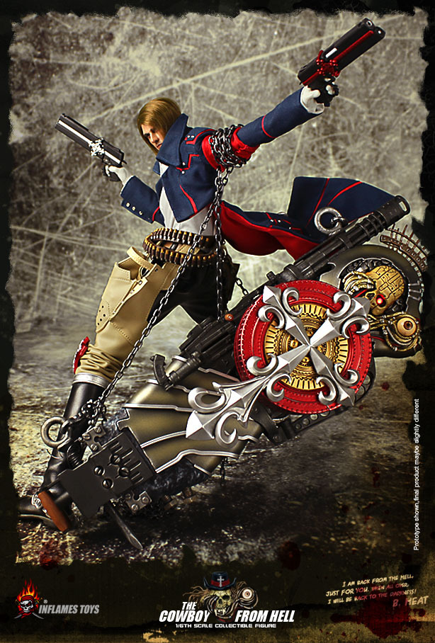 Inflames Toys The Cowboy From Hell 1/6 Scale doll figure model,12 Action figure doll cowboy junkies cowboy junkies the trinity session