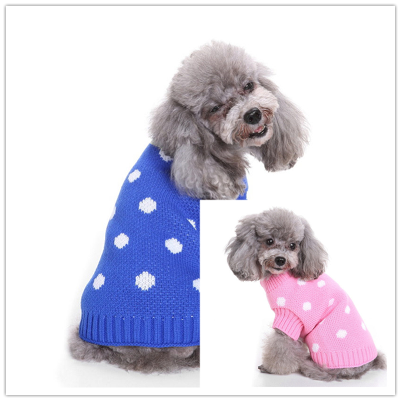 KITHOME PET Small Dog Clothes Chihuahua Pet Dogs Cat Knitwear Dog Sweater Puppy Warm Coat Cheap Clothing for Dogs Winter Doggy