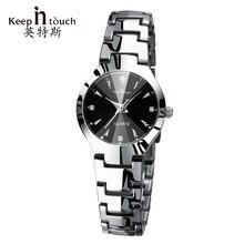 В курсе кварц женщина часы 2017 Элитный бренд светящийся браслет серебряные часы со стразами модные Relogio feminino