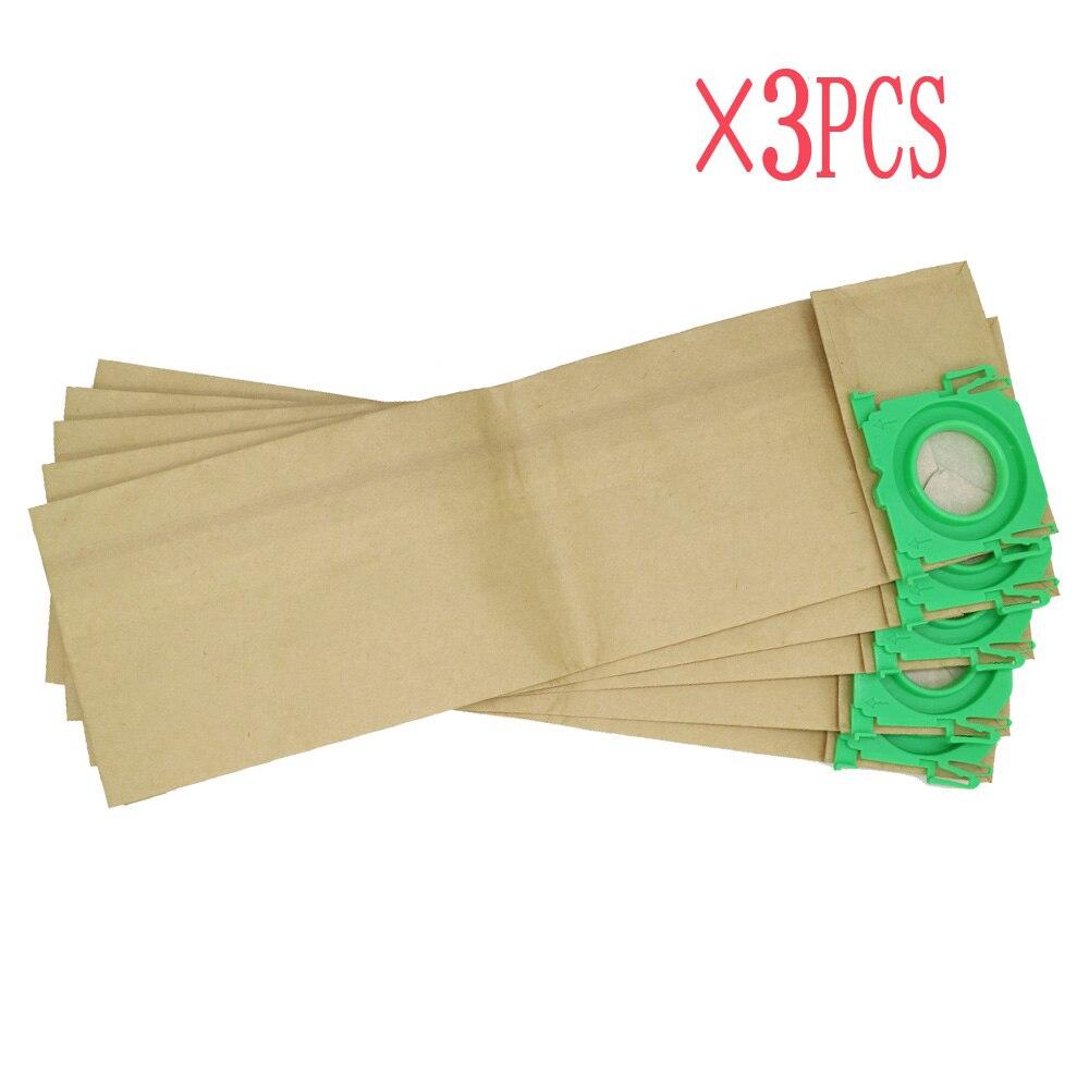 3pcs Free shipping Clean for Fairy vacuum cleaner bag for BORK V701 V702 3 Ply paper dust bag bork v702