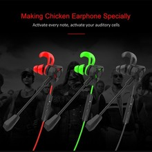 Wired Cool Gaming Earphones Gamer In Ear Earbuds Style Design Universal With Mic Volume Control Earphones Only Used For Phone