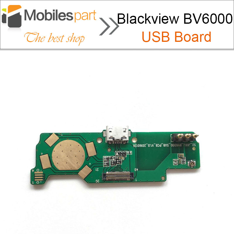 Blackview BV6000 USB Board High Quality Replacement assembly Fixing part Accessories for Blackview BV6000S Smartphone