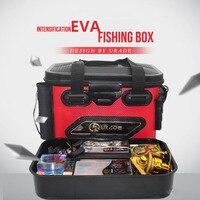 Fishing box fish tank Eva multifunctional subbox thickening fishing bucket custom waterproof bucket large space casecontainer