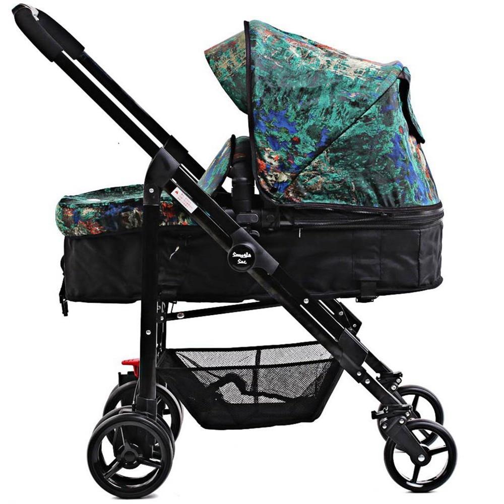 i-baby Draagbare Opvouwbare Paraplu Kinderwagen Snuggle Sac Monet - Activiteit en uitrusting voor kinderen - Foto 2