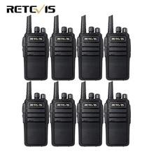 8pcs Walkie Talkie Retevis RT21 UHF 400-480MHz Scrambler VOX Handsfree Scan Walkie-talkie Ham Radio HF Transceiver
