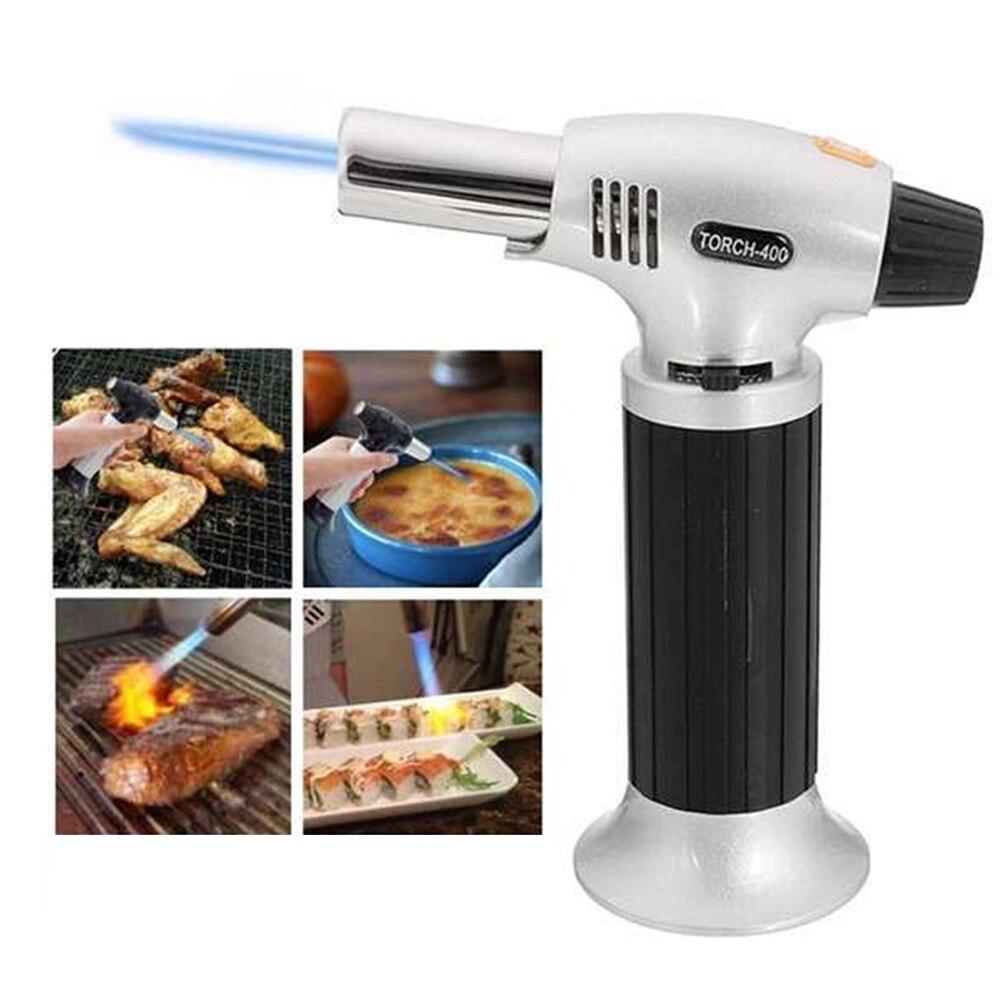 Инструменты для барбекю, горелка для приготовления пищи для барбекю, многоразовая кухонная горелка Tetrane, кулинарная горелка крем-брюле без ...