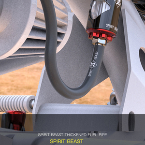Image 2 - Yağ borusu Boru Hattı Hortum 1 metre Motosiklet Yakıt Dişli Kauçuk 100 cm Çevre Vitta Fonksiyonlu 5mm için 8.5mm Takviyeli petrol Yağı