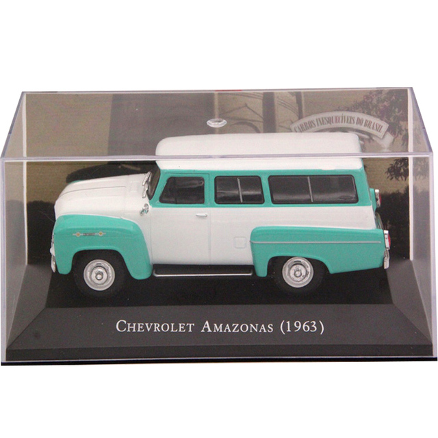 IXO Altaya 1:43 Scale Chevrolet Amazonas 1963 Car Diecast Models Limited Edition Collection Toys