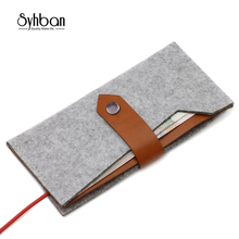 SYHBAN 5 5 Universal Wallet Leather Case Cover For iphone 6S 7 Plus For Samsung font