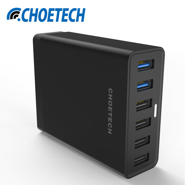 Choe Qualcomm Quick Charge 3 0 Usb Charging Station 50w Multi Charger For Xiaomi Mi5 Samsung
