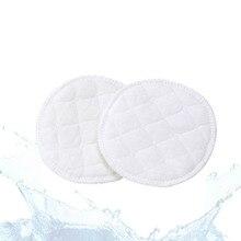 Чистый хлопок анти-seepage, моющийся, анти-Переливающаяся прокладка для груди, водопоглощение, герметичная, моющаяся прокладка для груди