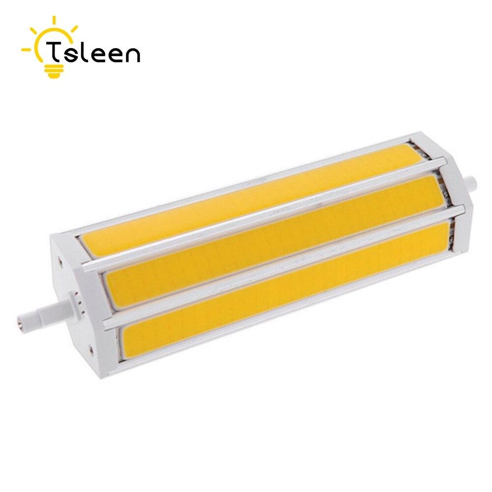 Cheap R7S COB Led Lamp Led Light 9W 13W 15W 20W Lampada 85-265V Replace Halogen Lamp Bulb Floodlight 78/118/135/189 mm