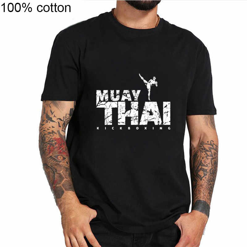 2019 gorąca sprzedaż Tee Shirt Muay Thai kick-boxing T Shirt Muay Thai Blitz Judo Kickboxing Karate koreański Taekwondo Kung Fu t-Shirt