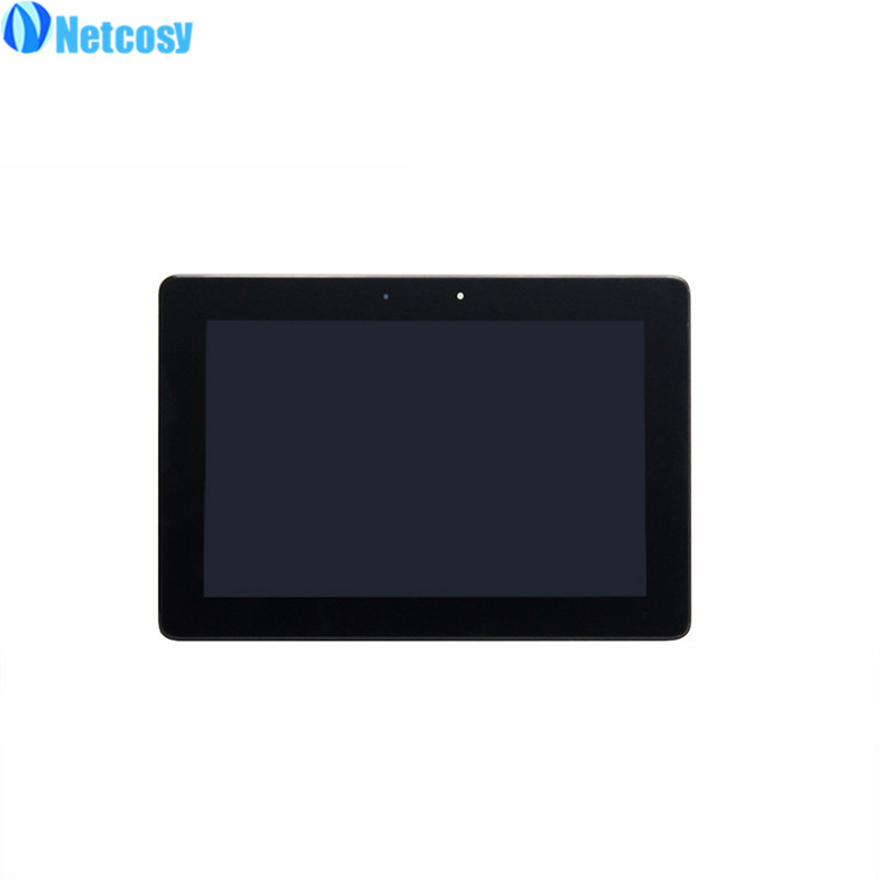 Netcosy ME301 LCD Display Touch Screen Assembly with frame For Asus MeMo Pad Smart 10 ME301 ME301 T01 5280N LCD screen original for for asus memo pad smart me301 me301t k001 tf301t lcd screen display touch digitizer with frame t01 5280n fpc 1 8v
