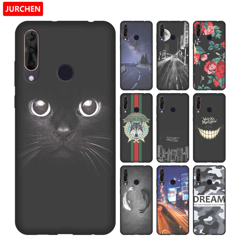 JURCHEN Soft Patterned Case For Wiko View 3 Pro Case For Wiko View3 Pro Case Cartoom Silicone Back Cover Fundas View 3 Pro Coque