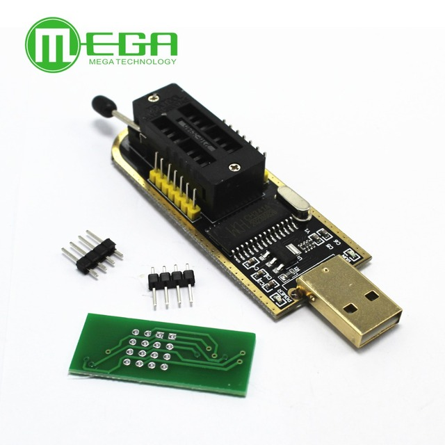 10set CH341A 24 25 Series EEPROM Flash BIOS USB Programmer with Software & Driver