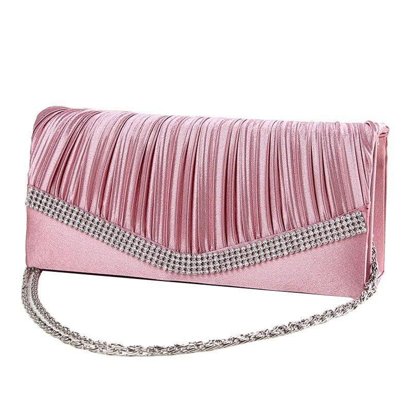 Aliexpress.com  Buy 2016 Women Satin Rhinestone Evening Clutch Bag Ladies Day Clutch Purse ...
