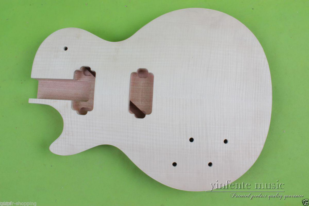 Electric guitar Body Solid Body left mahogany Flame Maple Veneer Replace  #Y182 6870s 0535a 6870s 0534a lcd panel pcb part a pair