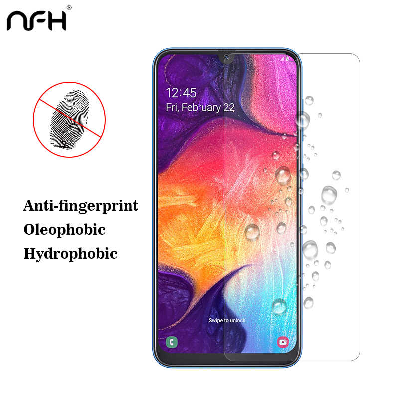 Tempered Glass For Samsung A50 M20 Not Full Covered Screen Protector 3Pcs 2.5 D Glass On For Samsung Galaxy A50 M30 A40 A30 M20