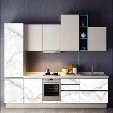 Cabinet sticker Old furniture refurbished PVC waterproof high temperature resistance imitation marble decorative