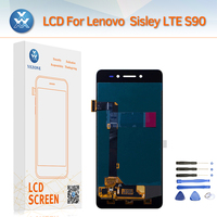 Super Amoled S90 Full Assembly LCD Display Touch Screen Digitizer Replacement With Repair Tools For Lenovo