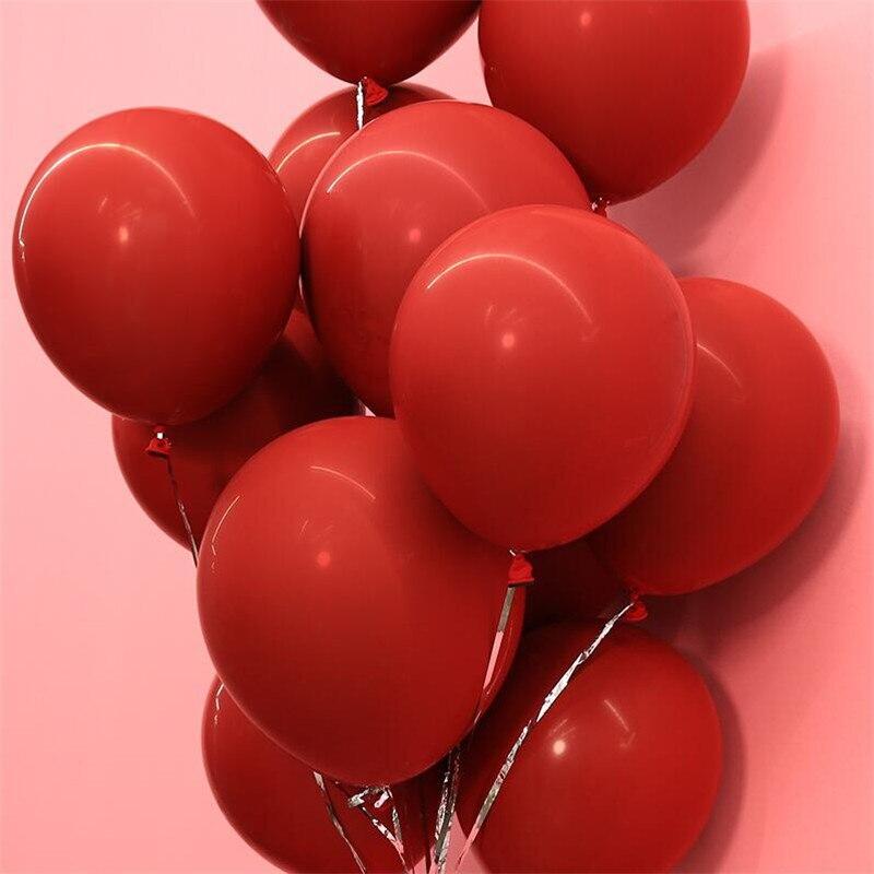 10pcs 12inch Agate Latex Confetti Balloon Wedding Birthday Party Supplies Decor