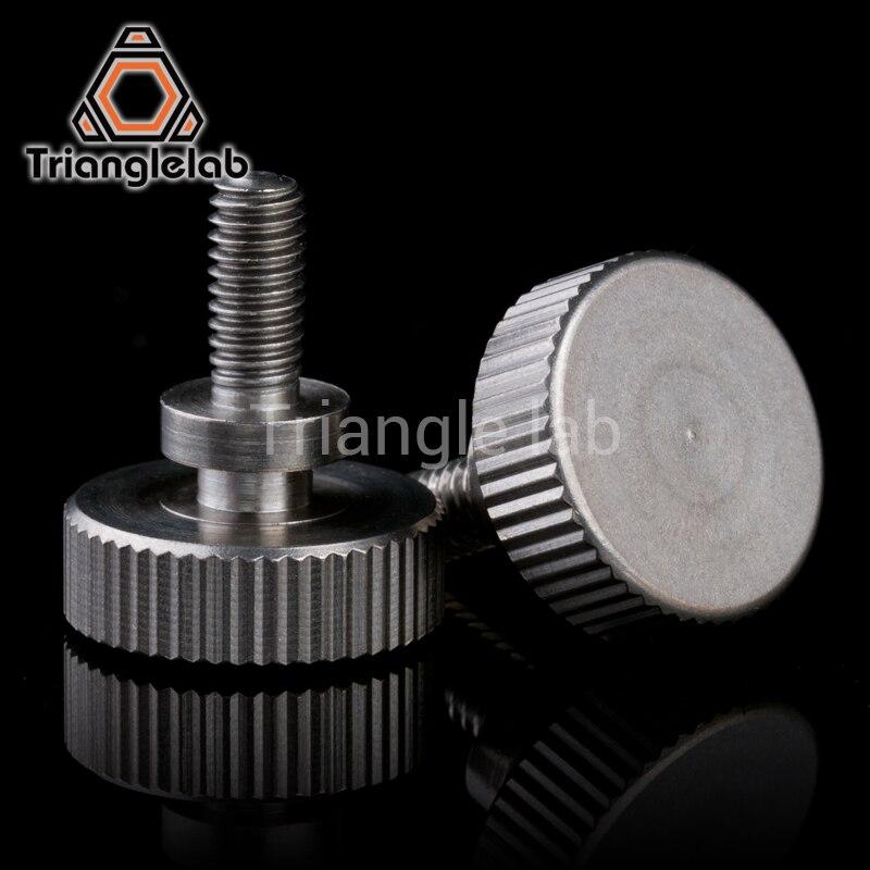 1pc Trianglelab Titan Thumb Wheel for 3D printer titan Extruder for desktop FDM printer reprap MK8 J-head bowden  i3 TITAN AQUA