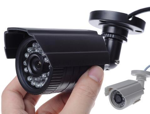 11.11biggest Sale 1200TVL small Outdoor Waterproof IP66 CCTV Security Color Mini HD Camera 24led IR infrared Night Vision Bracke