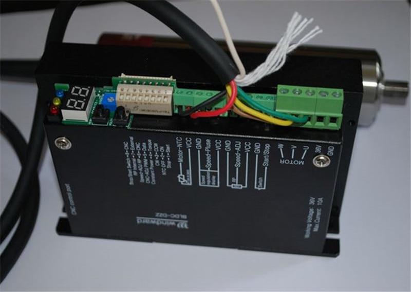 Motore mandrino brushless ER8 250w 40000rpm + driver MACH3 DC36V per - Macchine utensili e accessori - Fotografia 4