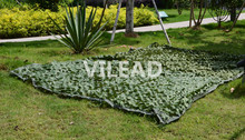 Купить с кэшбэком 3.5M*5M Camo Netting Green military camouflage netting filet camo net for outdoor sun shelter theme party decoration car covers