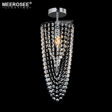 ФОТО luxurious crystal chandelier small clear crystal lustre 1 lights crystal light fixture for aisle stair hallway corridor porch