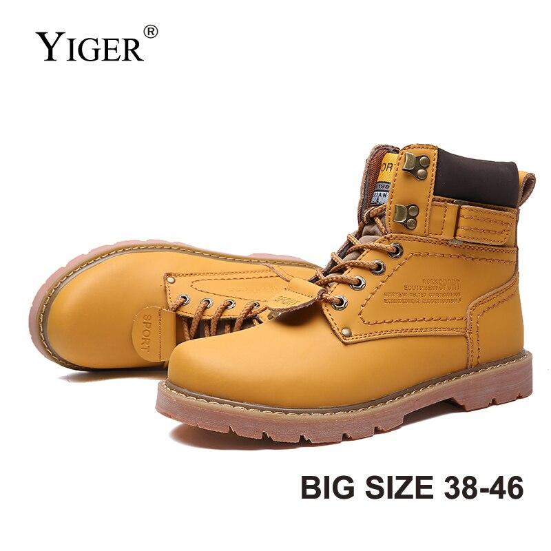 YIGER ใหม่ผู้ชาย Martins รองเท้ากลางแจ้งรองเท้าข้อเท้ารองเท้าผู้ชาย lace   up รองเท้าชายรองเท้าสบายๆขนาดใหญ่ขนาด 38 46 0228 บน AliExpress - 11.11_สิบเอ็ด สิบเอ็ดวันคนโสด 1