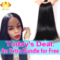 8A Unprocessed Brazilian Virgin Hair Straight Mink Brazilian Hair Weave 4 Bundles,Straight Brazilian virgin Human Hair Weave