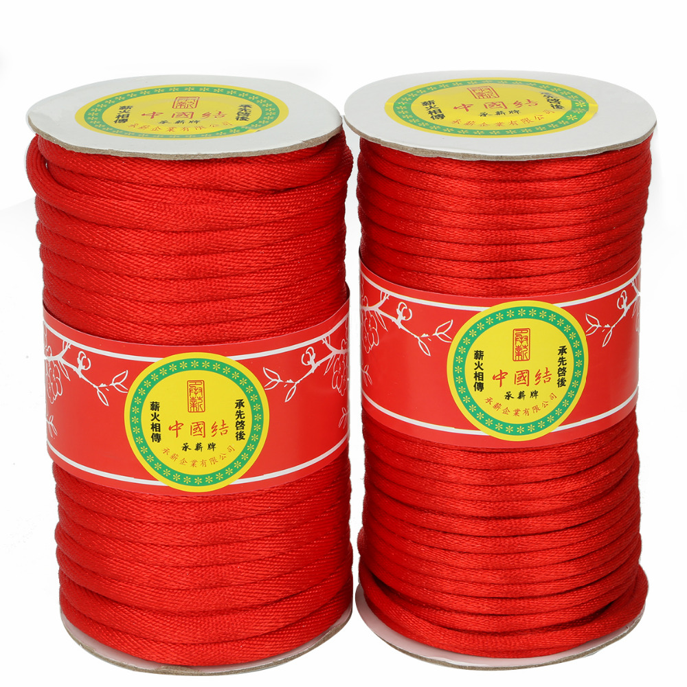 Thread where to buy ice picks in bulk - High Quality Durable 22 43 Yards 5 7mm Red Color Nylon Waxed Thread Cord